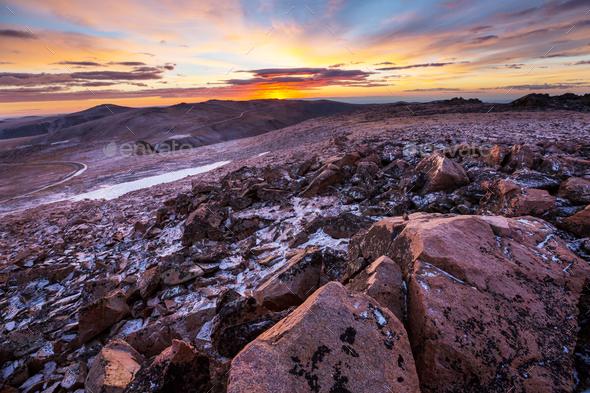 Beartooth pass - Stock Photo - Images