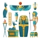Vector Cartoon Egyptian Set - GraphicRiver Item for Sale