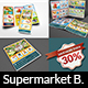 Supermarket Products Catalog Brochure Bundle Template Vol.4 - GraphicRiver Item for Sale