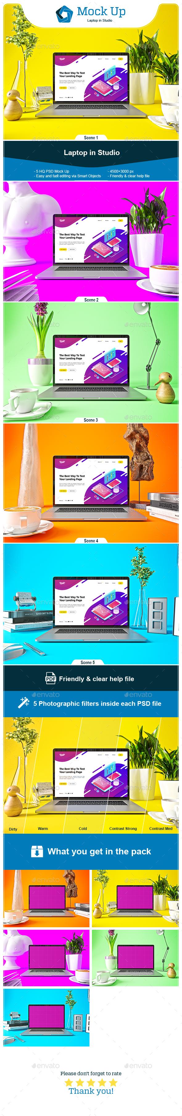 Laptop Pro in Studio - Laptop Displays