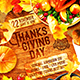 Thanksgiving Day Party Poster vol.2 - GraphicRiver Item for Sale