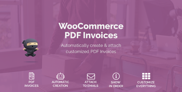 WooCommerce PDF Invoices            Nulled