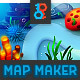 Aqua Game Map and Background Maker - GraphicRiver Item for Sale