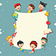 Free Download Kids Holding Blank Placard Nulled