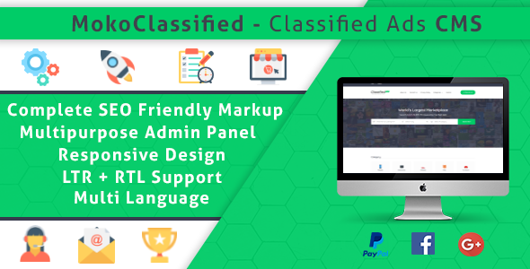 MokoClassified | Advanced Buy/Sell Classified Ads CMS Script            Nulled