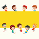 Free Download Kids Playing Vector Collection Nulled