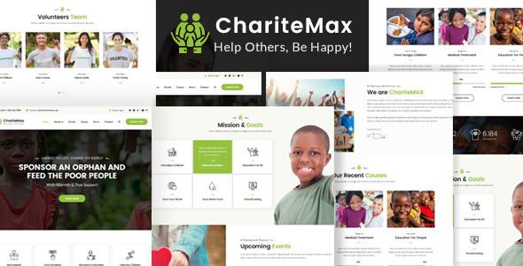 ChariteMax - Charity NonProfit HTML Template