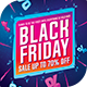Black Friday 2018 Flyer Template - GraphicRiver Item for Sale