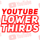 Youtube Lower Thirds - VideoHive Item for Sale