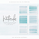 Free Download 12 Light Blue Watercolor Texture Backgrounds Nulled
