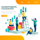 Ambition Concept with Characters - GraphicRiver Item for Sale