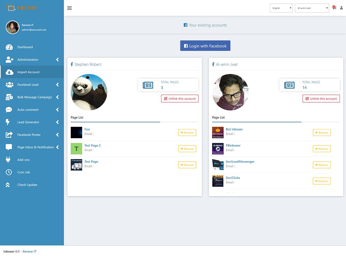 EZ Inboxer - Master Marketing Software for Facebook