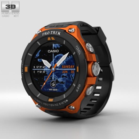 Casio Pro Trek WSD-F20 Orange