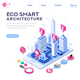 Eco Smart City Template for Presentation - GraphicRiver Item for Sale