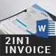 Invoice Bundle - 2in1 - GraphicRiver Item for Sale