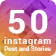 Instagram Post & Stories - GraphicRiver Item for Sale