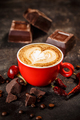 Chili and chocolate flavored coffee - PhotoDune Item for Sale