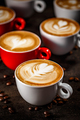 Cappuccino with latte art - PhotoDune Item for Sale