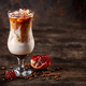 Iced coffee latte with pomegranate syrup - PhotoDune Item for Sale
