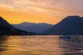 Sunset in Kotor Bay, Montenegro - PhotoDune Item for Sale