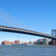 Panoramic view of the Manhattan Bridge, NYC. - PhotoDune Item for Sale
