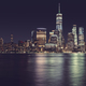 New York City panorama at night, USA. - PhotoDune Item for Sale