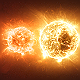 Red Binary Star System - VideoHive Item for Sale
