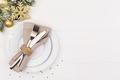 Christmas table setting - PhotoDune Item for Sale