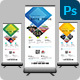 Free Download Corporate Roll Up Banner Nulled