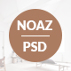 Free Download NOAZ – Furniture Ecommerce PSD Template Nulled
