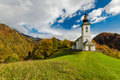 Undiscovered rural chapel or church in Slovenia mountains - PhotoDune Item for Sale