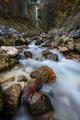 Pericnik waterfall in Slovenia Julian Alps, long exposure - PhotoDune Item for Sale