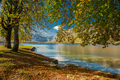 Magical colorful and vibrant autumn at the lake - PhotoDune Item for Sale