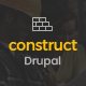 Free Download Construct - Construction & Building Drupal Theme Nulled