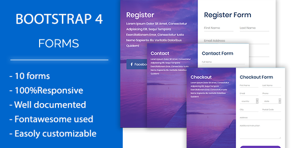 Roform - Modern Bootstrap 4 Forms            Nulled