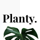 Planty - Modern Minimal Powerpoint Template - GraphicRiver Item for Sale