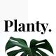 Free Download Planty - Modern Minimal Google Slide Template Nulled