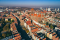 Aerial view of Old Town in Gdansk, Poland. - PhotoDune Item for Sale