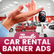 Car Rental Banners Ad - GraphicRiver Item for Sale