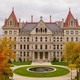 Fall Season New York Statehouse Capitol Building in Albany - PhotoDune Item for Sale