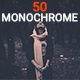 Free Download 50 Monochrome Lightroom Presets Nulled