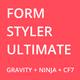 Free Download Form Styler Ultimate | Compatible with Gravity Forms, Ninja Forms & CF7 (Contact Form 7) Nulled