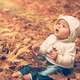 Baby boy enjoying autumn - PhotoDune Item for Sale