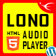 Free Download Lono - Responsive HTML5 Audio Player With Playlist WordPress Plugin Nulled