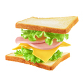Flying sandwich isolated - PhotoDune Item for Sale