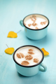 Autumn cappuccino coffee cups - PhotoDune Item for Sale