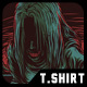 Mystery Girl T-Shirt Design - GraphicRiver Item for Sale