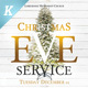 Christmas Eve Service Flyer Templates - GraphicRiver Item for Sale