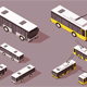 Bus Trolley for Transportation - GraphicRiver Item for Sale