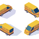Mail Car for Delivery of Mail and Parcels - GraphicRiver Item for Sale